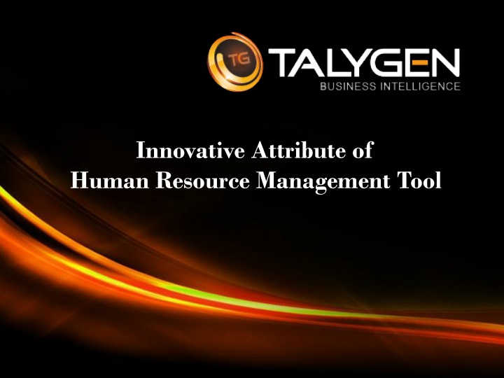 innovative attribute of human resource management tool n.