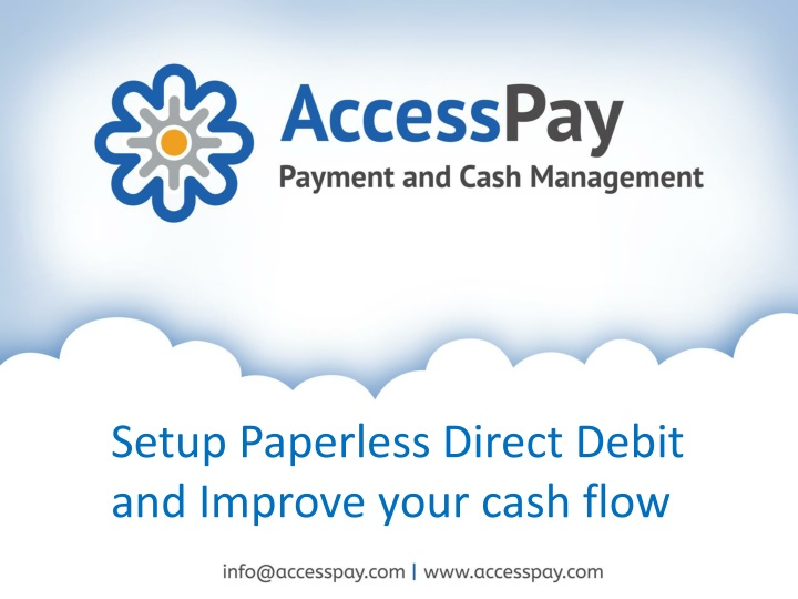 setup paperless direct debit and improve your n.