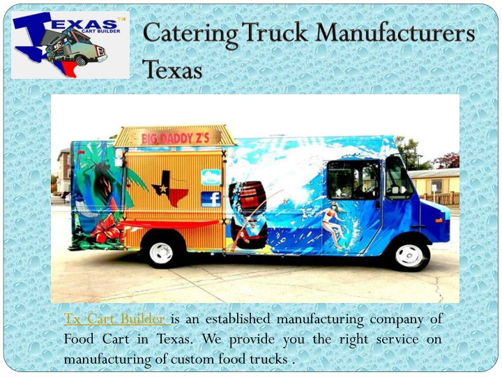 catering truck manufacturers texas n.