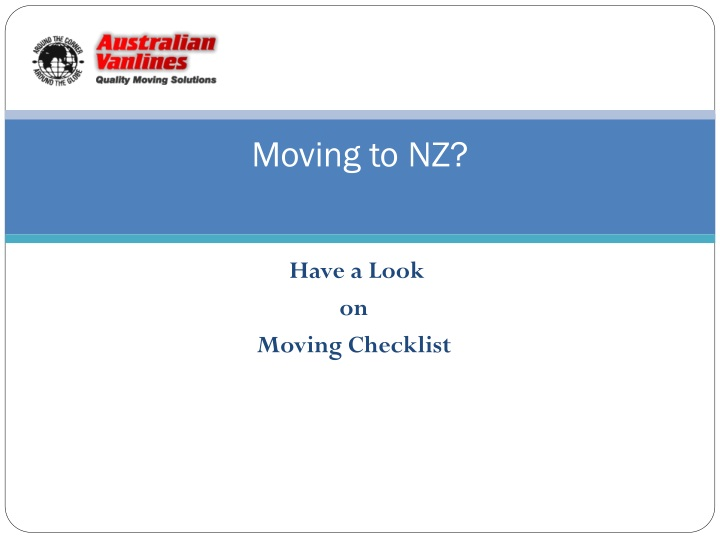 moving to nz n.