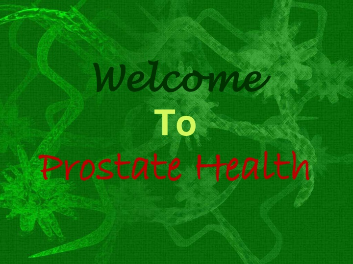 welcome to prostate health n.