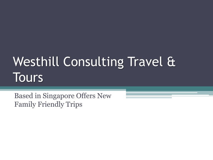 westhill consulting travel tours n.