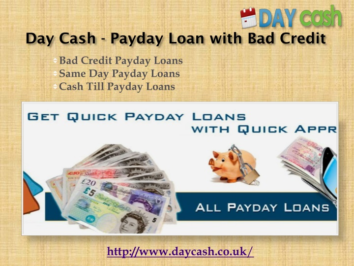 day cash payday loan with bad credit n.