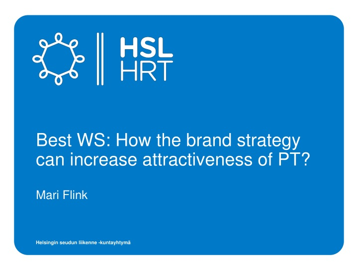 best ws how the brand strategy can increase attractiveness of pt n.