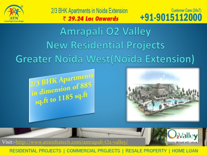 amrapali o2 valley new residential projects greater noida west noida extension n.