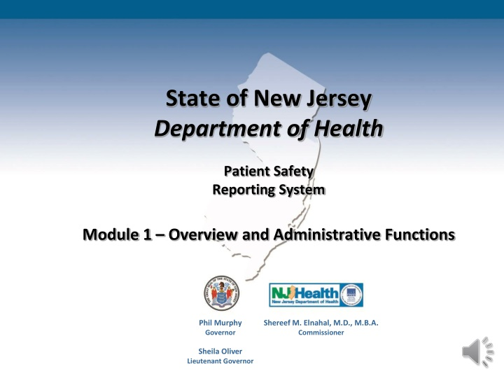 state of new jersey department of health patient n.