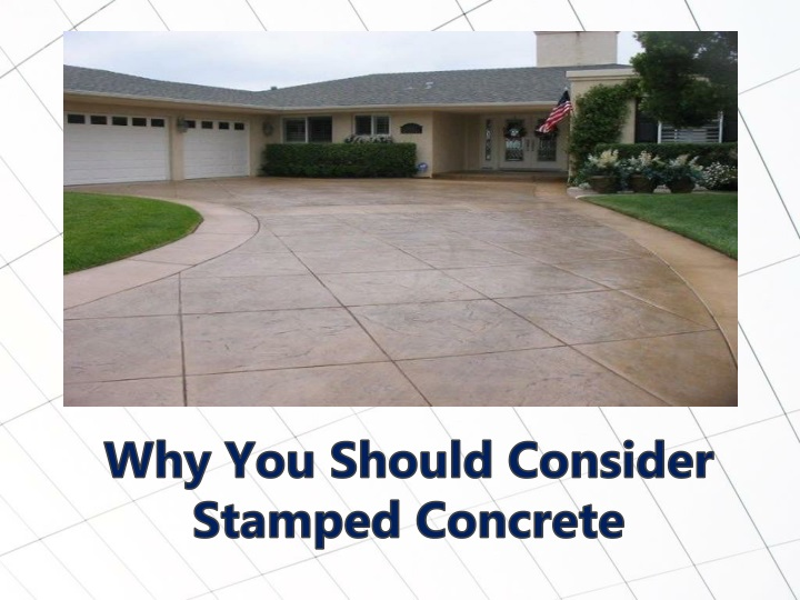 why you should consider stamped concrete n.