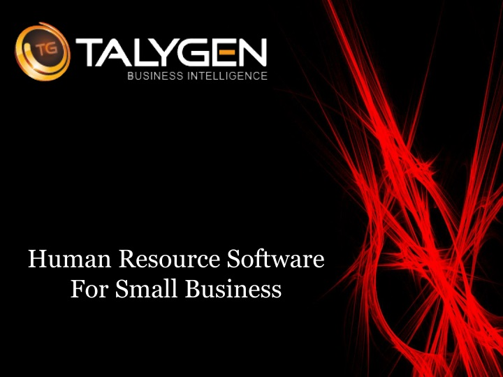 human resource software for small business n.