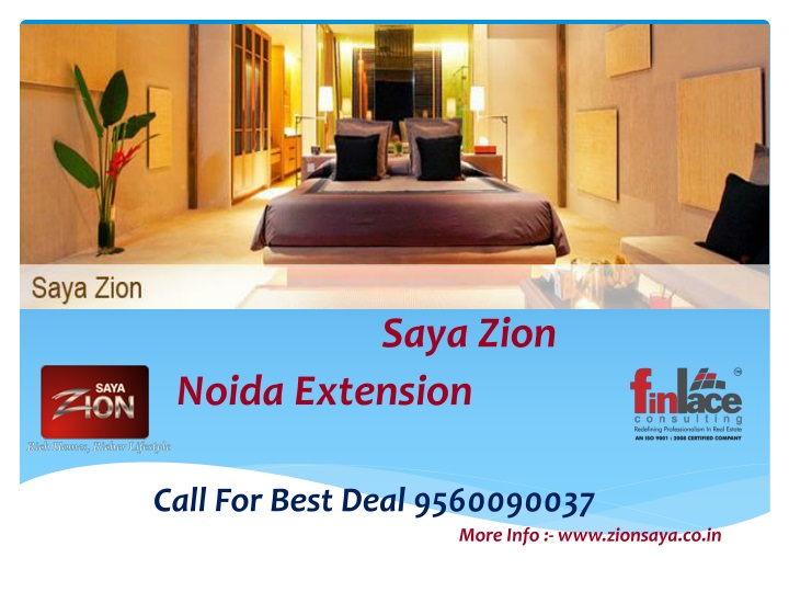 saya zion noida extension call for best deal n.
