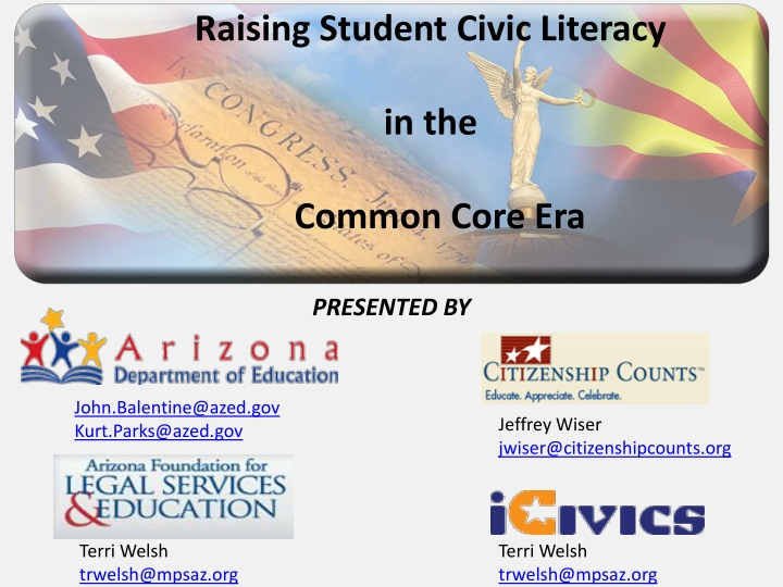 raising student civic literacy in the common core n.