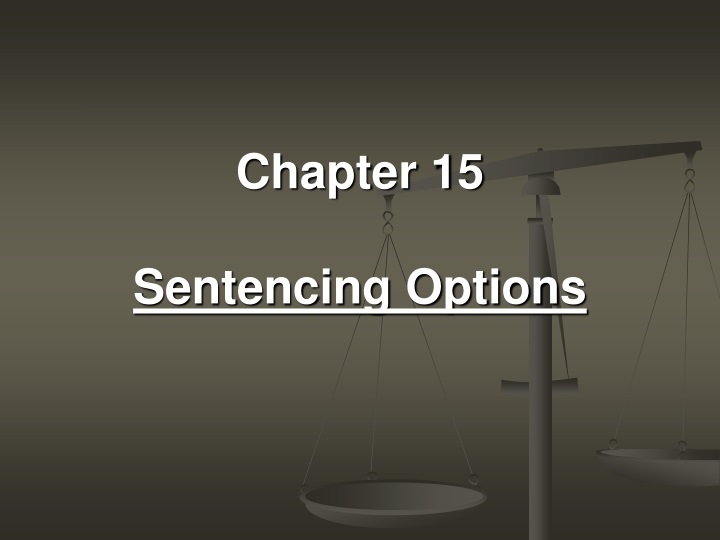 chapter 15 sentencing options n.