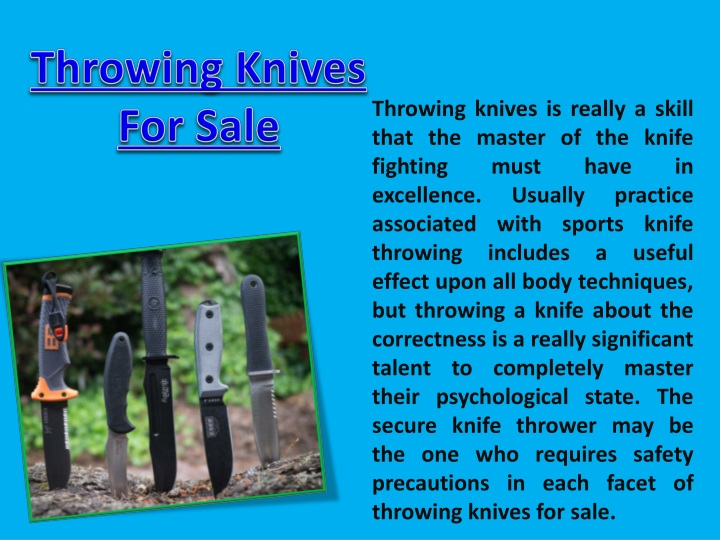 throwing knives for sale n.