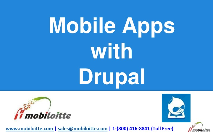 mobile apps with drupal n.