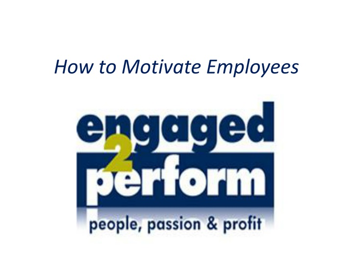 how to motivate employees n.