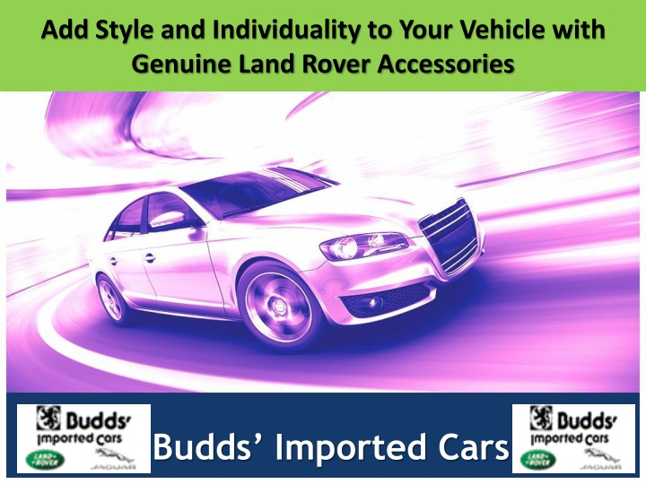 add style and individuality to your vehicle with genuine land rover accessories n.