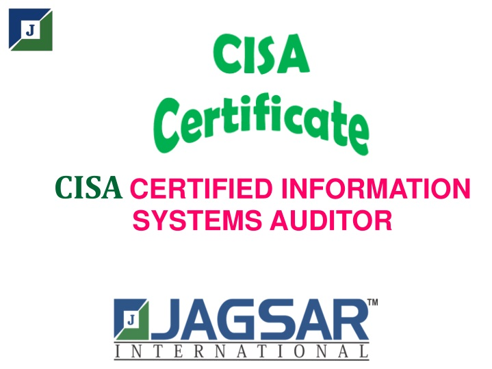 cisa certified information systems auditor n.