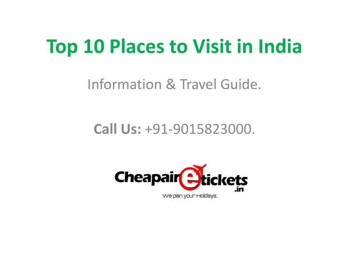 top 10 places to visit in india n.