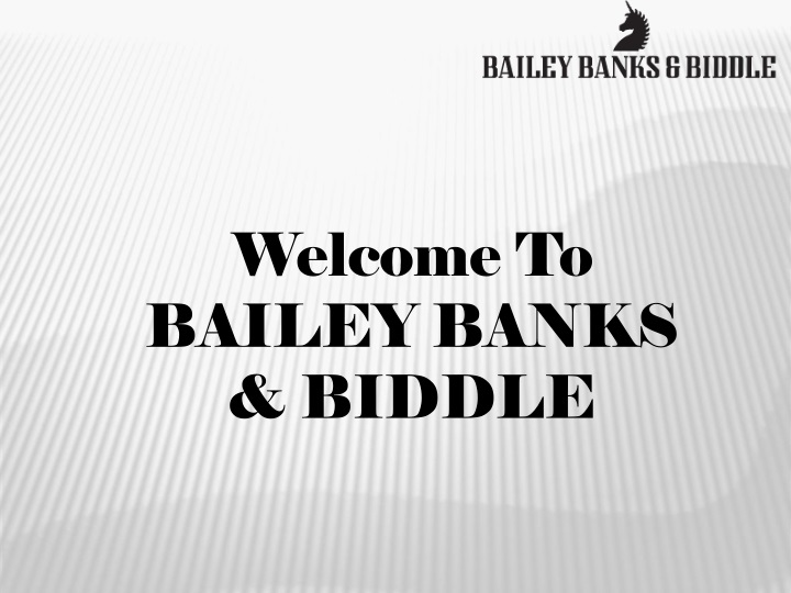 welcome to bailey banks biddle n.
