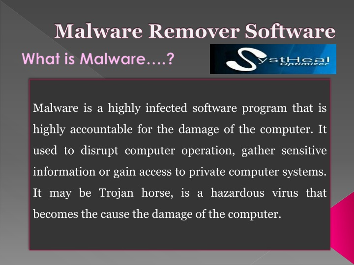 malware remover software n.
