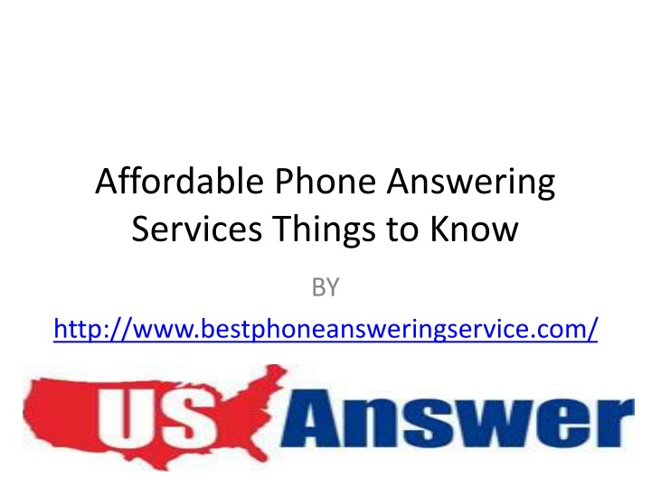 affordable phone answering services things to know n.