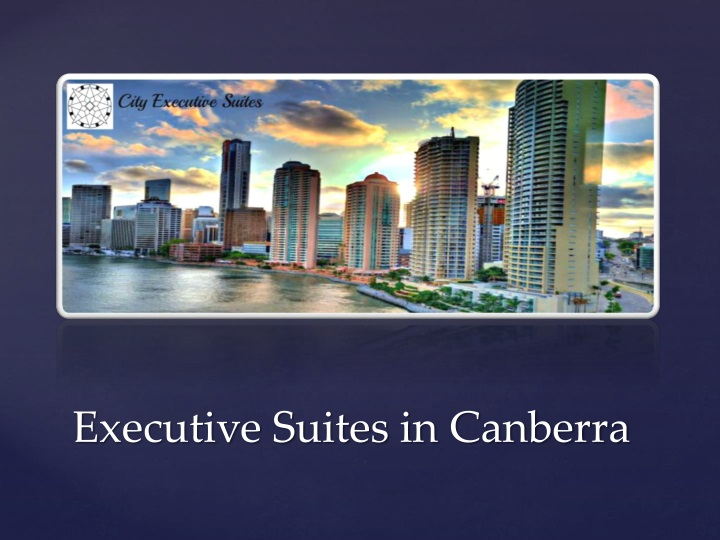 executive suites in canberra n.