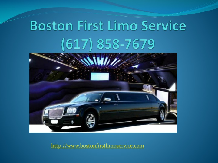 boston first limo service 617 858 7679 n.