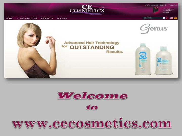 welcome to www cecosmetics com n.