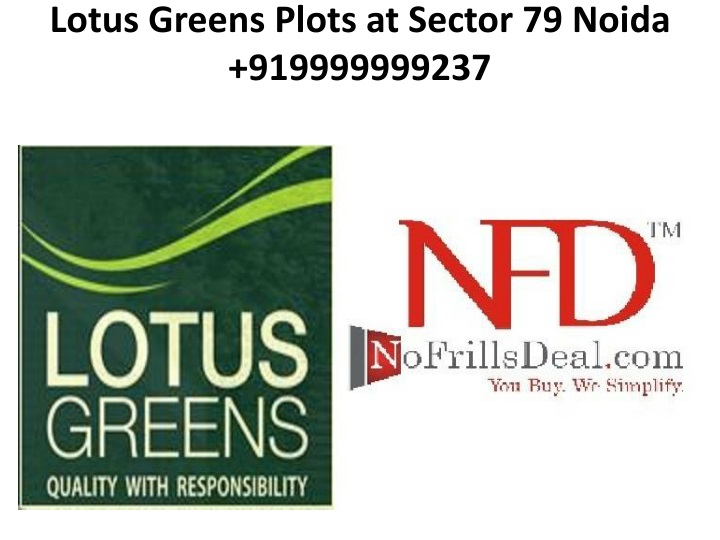 lotus greens plots at sector 79 noida 919999999237 n.