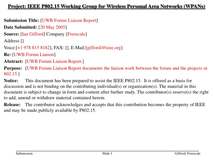 project ieee p802 15 working group for wireless n.