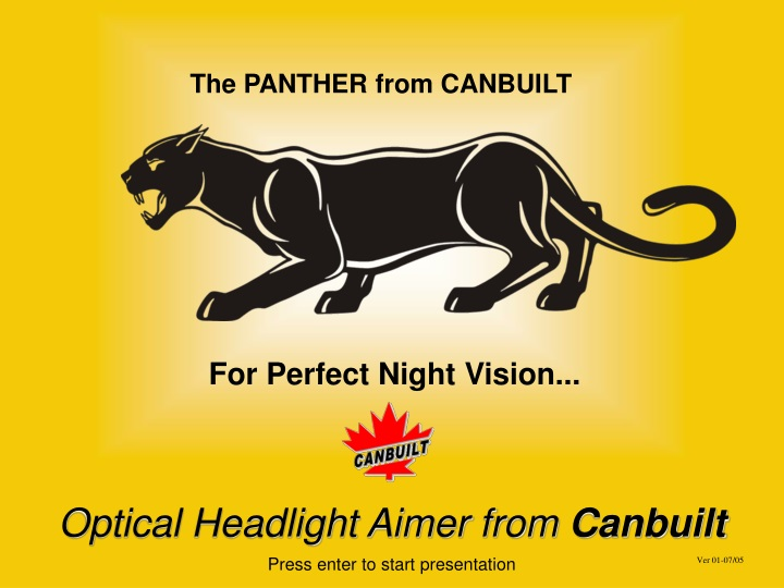 the panther from canbuilt n.