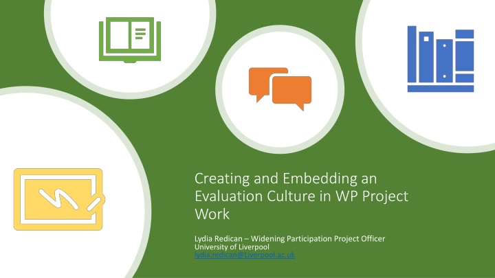 creating and embedding an evaluation culture in wp project work n.