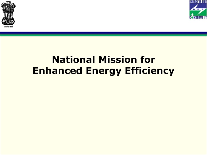national mission for enhanced energy efficiency n.