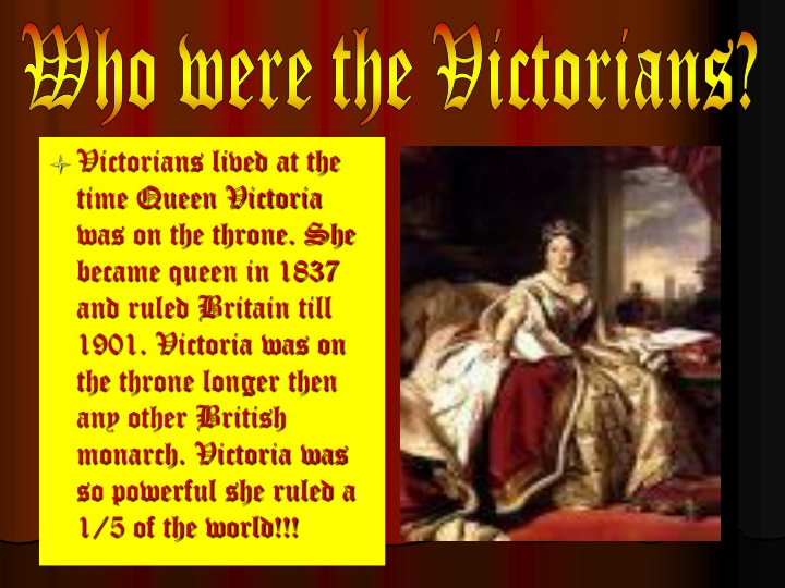 who were the victorians n.
