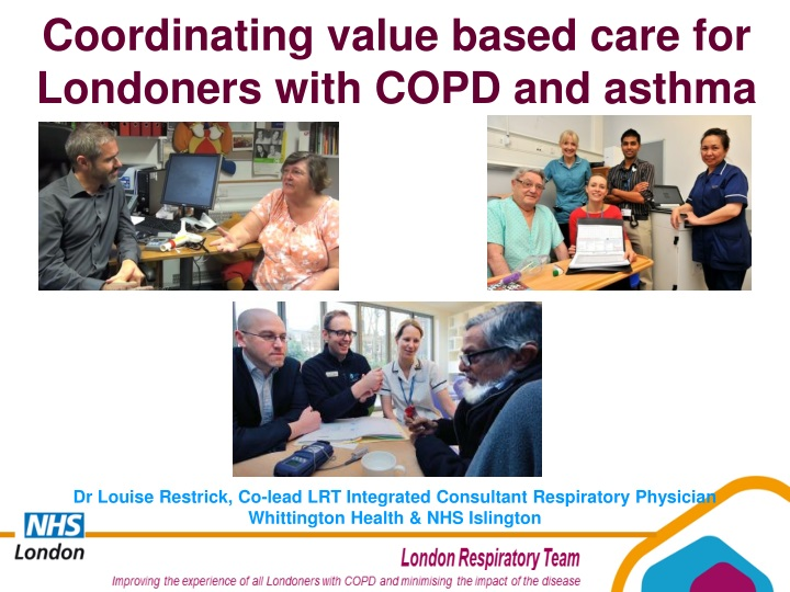 coordinating value based care for londoners with n.