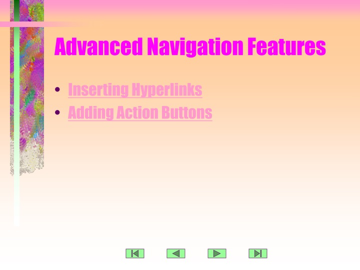 advanced navigation features n.