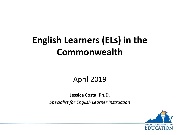 english learners els in the commonwealth n.
