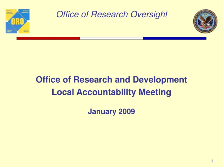 office of research and development local n.