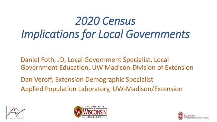 2020 census implications for local governments n.