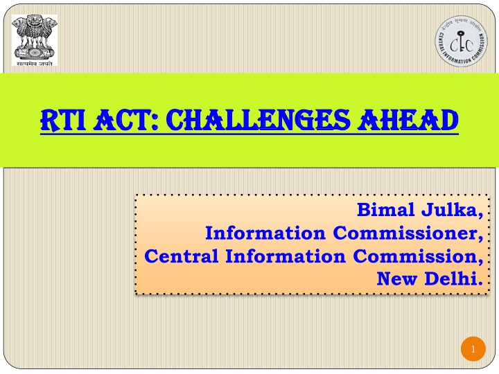 rti act challenges ahead n.