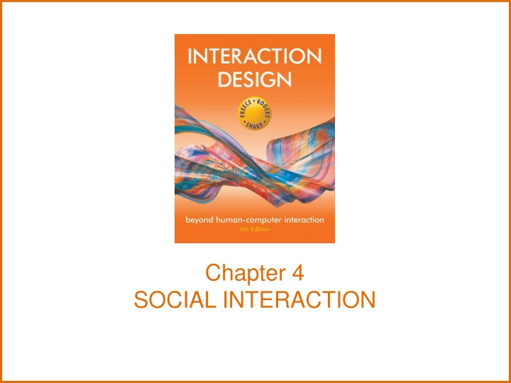 chapter 4 social interaction n.
