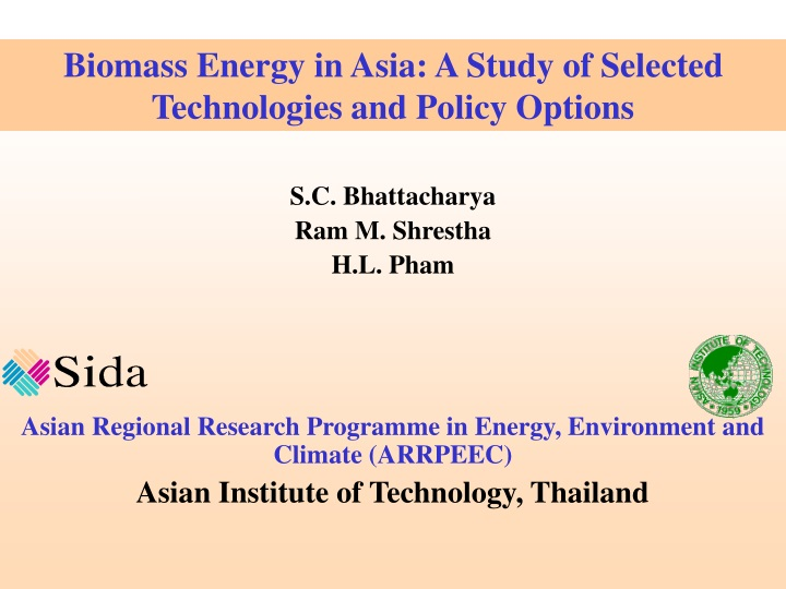 biomass energy in asia a study of selected n.