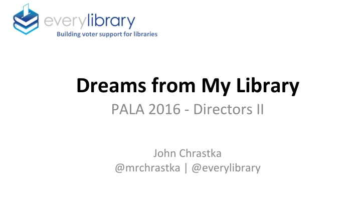 building voter support for libraries n.