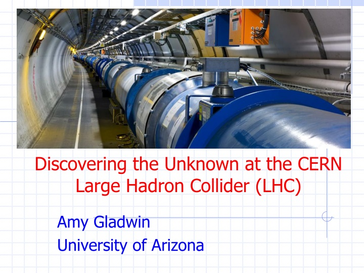 discovering the unknown at the cern large hadron collider lhc n.