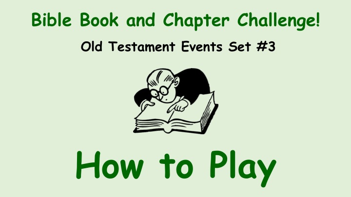 bible book and chapter challenge n.