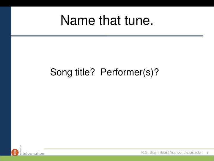 name that tune n.