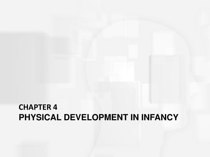 chapter 4 physical development in infancy n.