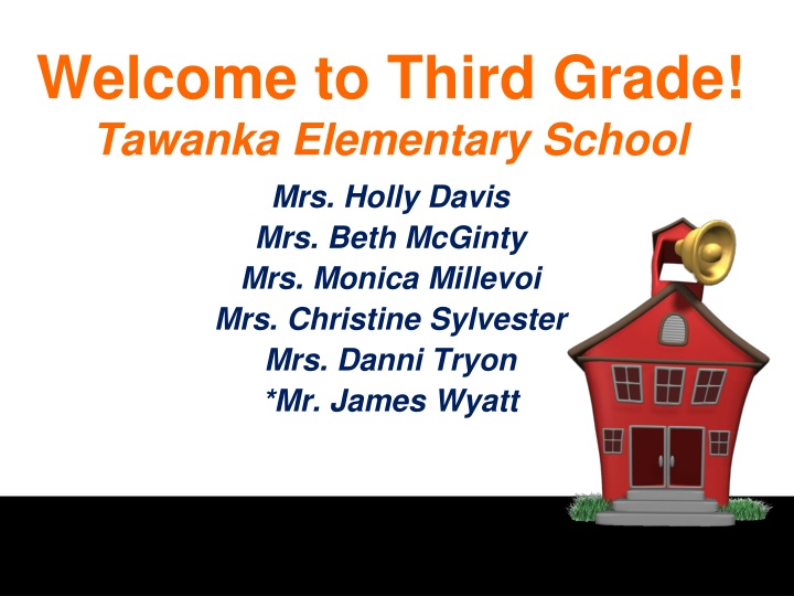 welcome to third grade tawanka e lementary school n.