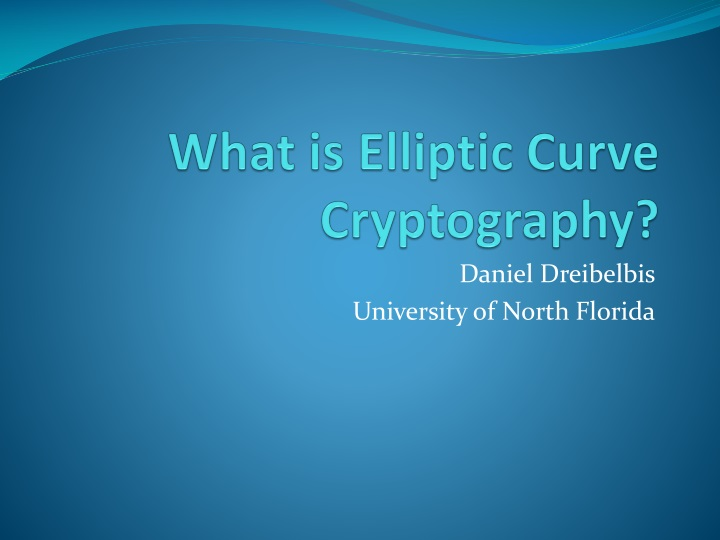 what is elliptic curve cryptography n.
