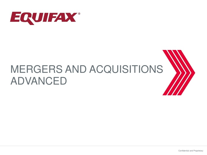 mergers and acquisitions advanced n.
