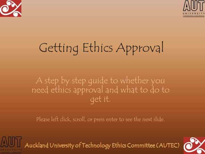 getting ethics approval n.